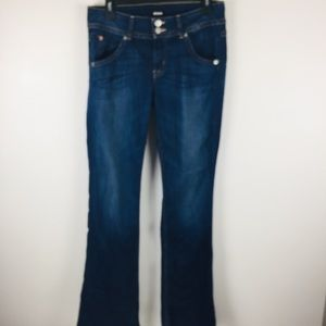 Hudson Signature Midrise Bootcut Jeans Sz 28
